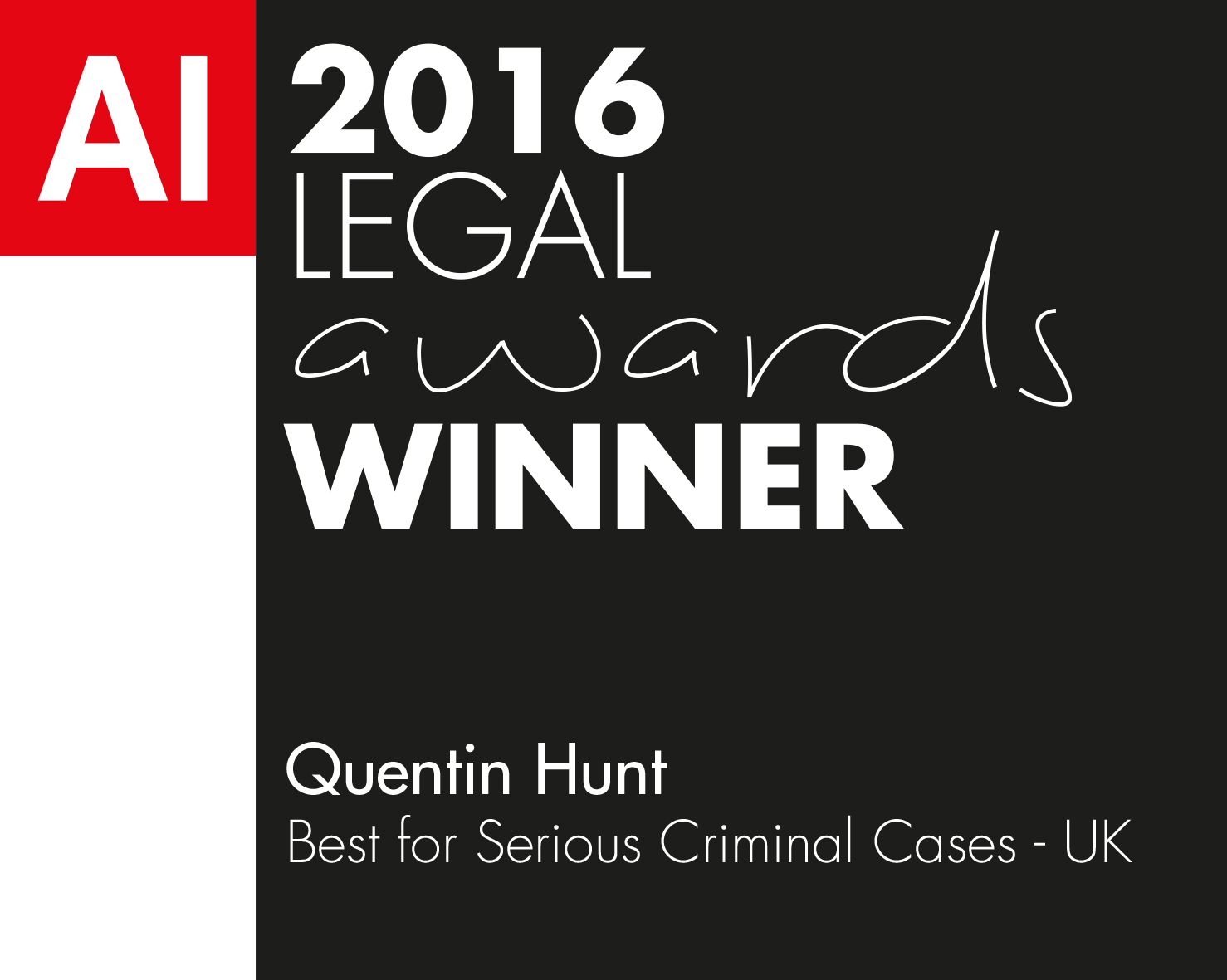 Quentin Hunt-Legal Awards 2016 (FD160088) winners logo